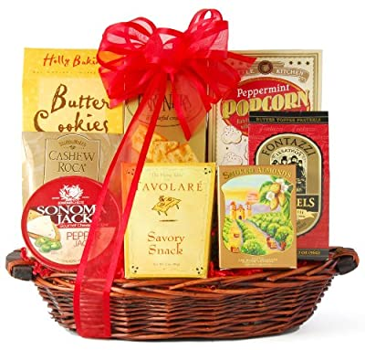 Wine.com Something Sweet & Savory Snack Gift Basket