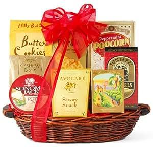 Wine.com Something Sweet & Savory Snack Gift Basket