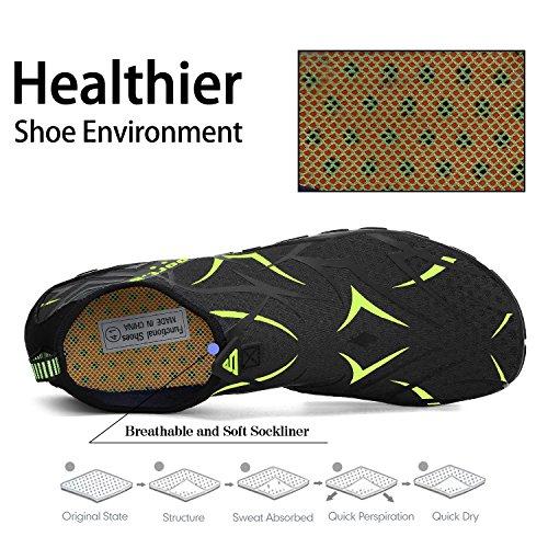 Pool Skin Unisex Sports Women On Shoe Quick Green Aqua Water Beach Socks Slip Swimming SAGUARO Drying Shoes Men Pattern Sand Yoga Barefoot wUTXqfxn8