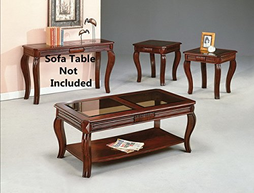 Leather Set End Table - 7