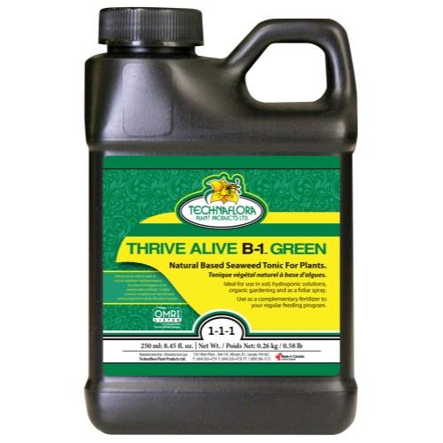 Technaflora Thrive Alive B-1 Green 0-0 - 1 Thrive Alive B-1 Green 250 ml (12/Cs)