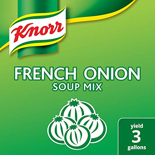 Knorr Professional French Onion Soup Mix Loaded with Real Onions, No Artificial Flavors, No added MSG, 0g Trans Fat, 20.98 oz, Pack of 6