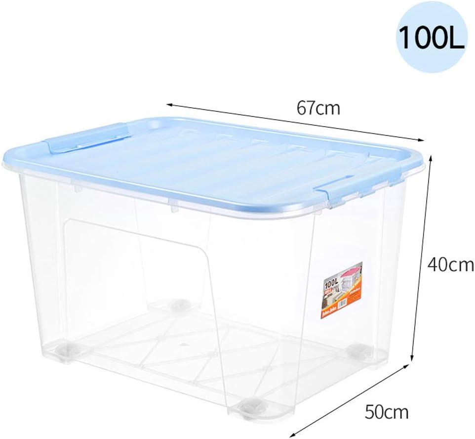 MJB Paquete De 3 Cajas De Almacenamiento De Plástico Transparente ...
