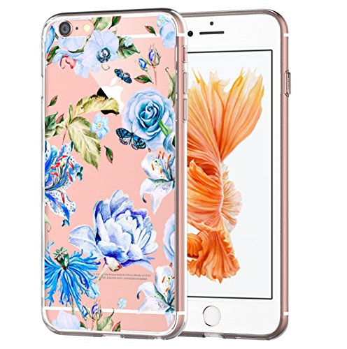 Price comparison product image Beryerbi iPhone 6/6S Case Transparent Soft TPU Ultra Slim Anti-Scrape Protective for Apple 6 6s (6, iPhone 6 6S)
