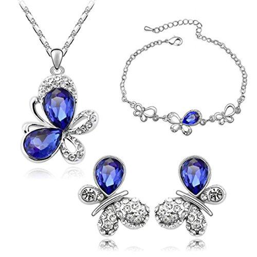 MAFMO Fantastic Butterfly Jewelry Set Sweet 18