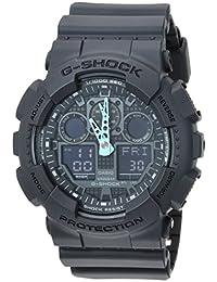 Men's G-Shock Analog-Digital Watch GA-100C-8ACR,...