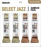 D'Addario Woodwinds DSJ-L2M Select Jazz Baritone Reed Sampler Pack, 2M/2H