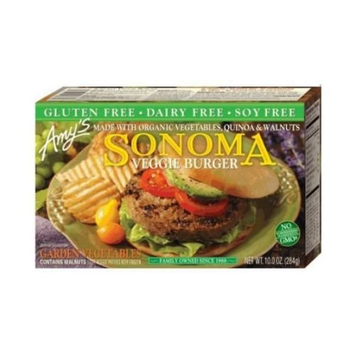 Amys Sonoma Veggie Burger, 10 Ounce -- 12 per case. by Amy's
