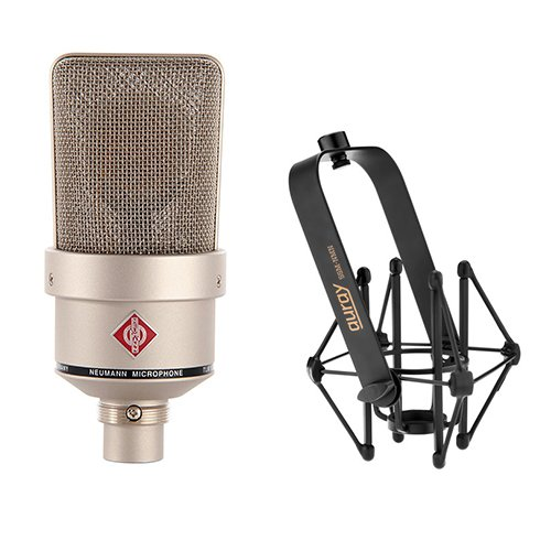 Neumann TLM 103 Large Diaphragm Condenser Microphone (Nickel) With Suspension Shockmount