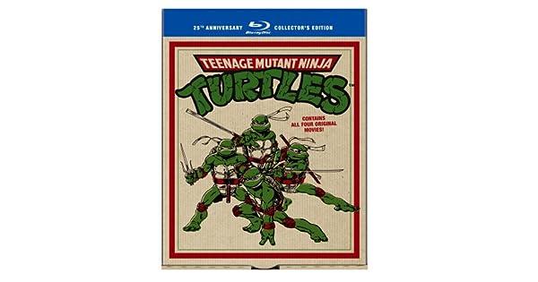 Amazon.com: Teenage Mutant Ninja Turtles: 25th Anniversary ...