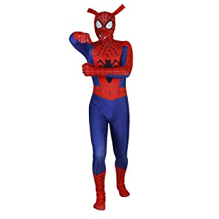 NDHSH Spiderman Parallel Universe Fancy Dress Costume Adulto Lycra Tuta Outfit Halloween Masquerade Partito Prom Cosplay,Adult-XL