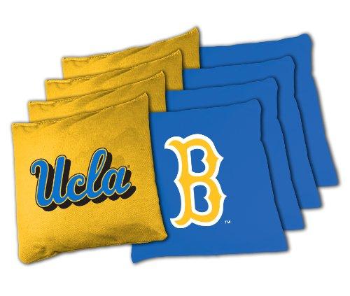 NCAA College UCLA Bruins 16oz, Duckcloth Cornhole Bean (Ucla Bruins Set)