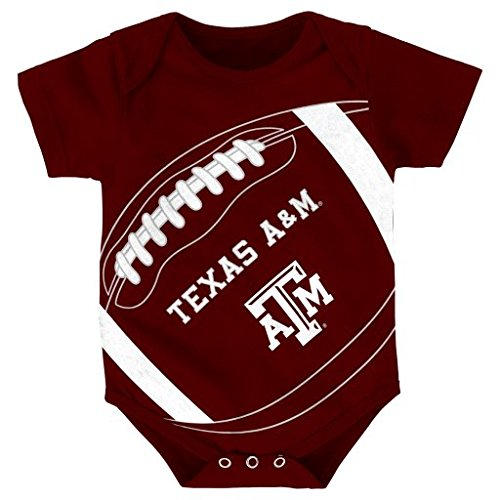 NCAA Newborn Fanatic Football Creeper