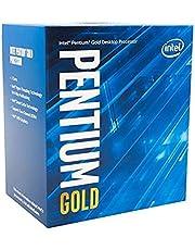 Intel® Pentium Gold G-6400 Desktop Processor 2 Cores 4.0 GHz LGA1200 (Intel® 400 Series chipset) 58W (BX80701G6400)