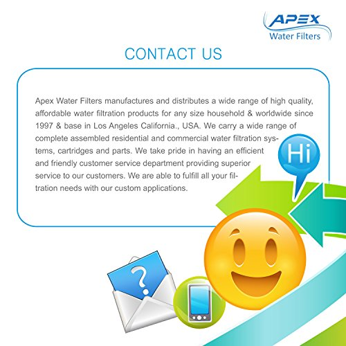 APEX Countertop Drinking Water Filter - Alkaline (Clear) by Apex (Image #8)