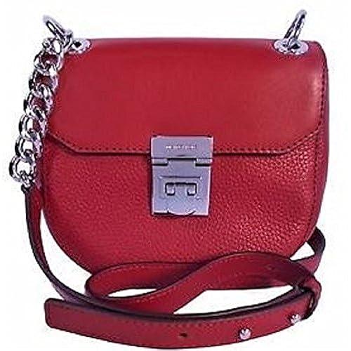Cherry Saddle Mini Crossbody Michael 70 Cecelia Leather Kors EDI29WH