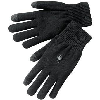 cadd8f8777beb4 Smartwool Merino Herren Handschuh liner glove, black, m: Amazon.de ...