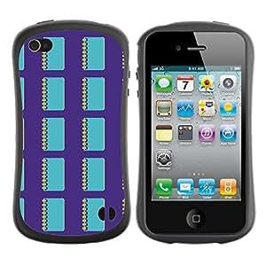 ArtSpace Premium Hybrid Back Case Cover Apple iPhone 4 / 4S ( simple notebook )