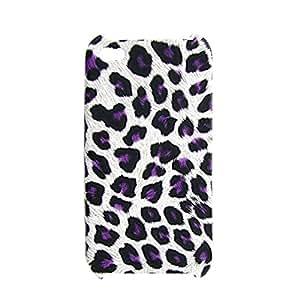 Caso plástico de nuevo Escudo Púrpura del patrón del leopardo para Iphone 4G 4