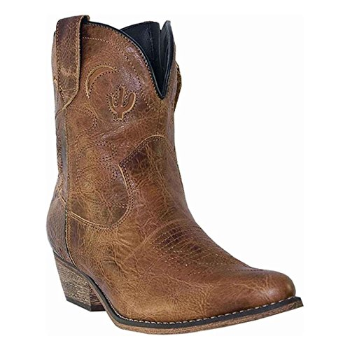 Dingo Women's Adobe Rose Boot,Brown,8.5 M US by Dingo
