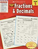 Scholastic Success with Fractions & Decimals, Grade