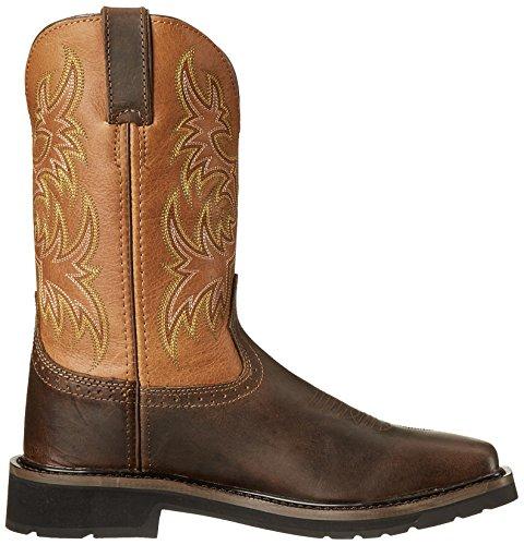 Work Tan Work Stampede Men's Original Boots Rugged Boot Justin fvUp8w