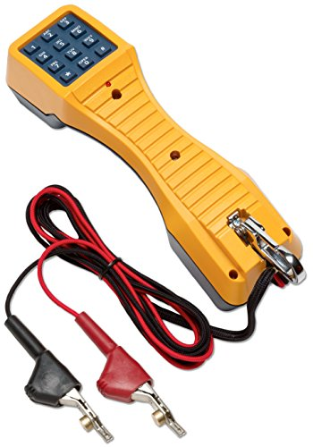 (Fluke Networks 19800009 TS19 Telephone Test Set with Angled Bed-of-Nails Clips )