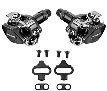 c26866d2c89 Image Unavailable. Image not available for. Colour: Shimano PD M505  Clipless SPD MTB ...