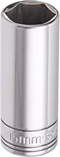 product image for SK Hand Tool 41711 6-Point 1/4-Inch Drive Deep Socket, Chrome