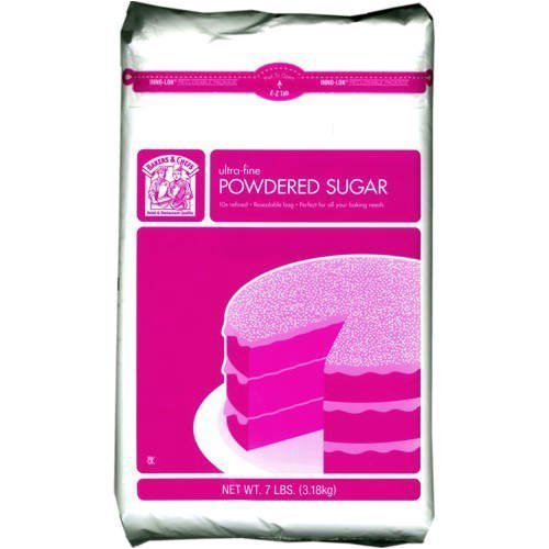 Bakers & Chefs 10 Times Ultra Fine Powdered Sugar - 7 lb. bag by Bakers & Chefs [Foods] ()
