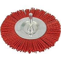 Silverline 589713 Cepillo Circular Abrasivo con Filamentos