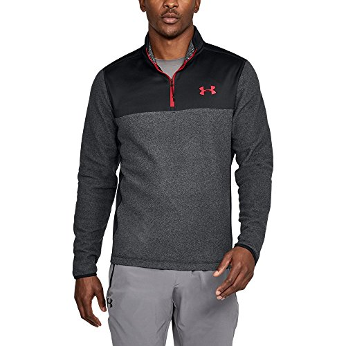 Under Armour ColdGear Infrared Fleece ¼ Zip XXXX-Large Black by Under Armour (Image #1)