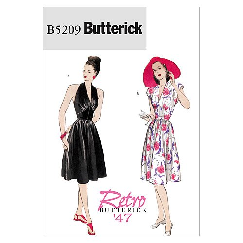 UPC 031664423416, Butterick Patterns B5209 Misses' Dress, Size EE (14-16-18-20)