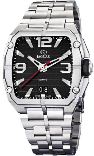 Jaguar J641/C - Reloj de pulsera de hombre, correa de acero inoxidable color plata: Amazon.es: Relojes