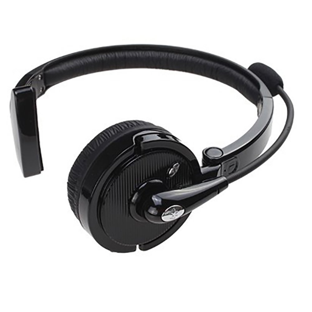 yunbox299 Earphone Headset Headphone, Noise-Canceling Over Head Boom Wireless Bluetooth Mic Headset for Trucker Driver Black by yunbox299 (Image #5)