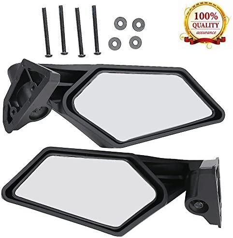 FOR 2017-2018 Can Am Maverick X3 MAX Racing Side Mirrors Left /& Right 715002898