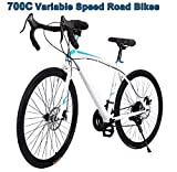 Road Mountain Bicycle Hot Cool 700C Steel Fixed Gear Road Cycling
