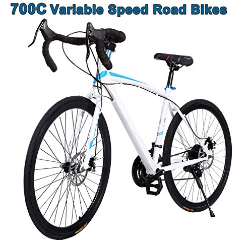 Road Mountain Bicycle Hot Cool 700C Steel Fixed Gear Road Cycling Ferty