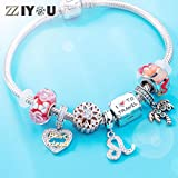 Leo Zodiac Sign Charms for Pandora Charm Bracelets