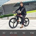 HUATXING-26-Pollici-Pieghevole-Bici-elettrica-di-Alimentazione-Assist-Bicicletta-elettrica-Siamesi-Rim-Scooter-48V-10AH-350W-Motore-Mountain-E-Bike