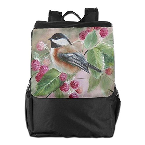 Bird Paintings for Outdoors Shoulder and Adjustable Backpack Men Dayback Personalized Camping Travel School Women Houses Strap Storage qXYSwgx