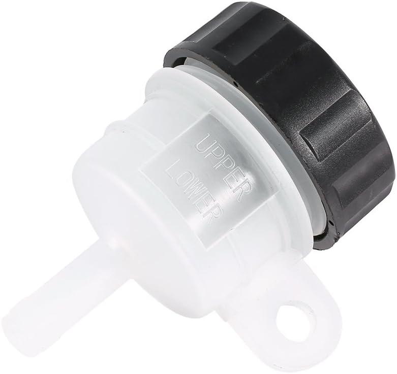 Gorgeri Depósito de Freno, depósito de plástico para Motocicleta, Freno Trasero, Cilindro Maestro, depósito de Aceite, depósito de Botella de líquido para depósito de Motocicleta