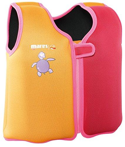 Mares Kinder Schwimmweste Schwimmhilfe Floating Jacket Kids (pink, S - 5-6 Jahre (ca. 18-25kg))