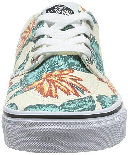 VansBrigata - Zapatillas de Deporte Unisex adulto Blanco - Blanc - White (Vintage Aloha - Classic White/True White)