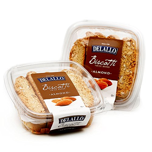 DeLallo Biscotti, Almond, 7-Ounce (Pack of 4)