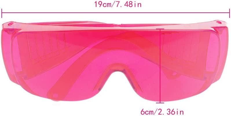CADANIA Protective Safety Goggles Glasses Work Dental Eye Protection Spectacles Eyewear Blue