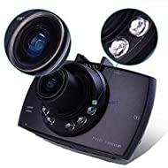 "Sedeta® 2.4 ""720 HD Car Vehicle DVR Camera G-Sensor Video Recorder Dash Cam Camcorder pour VUS"