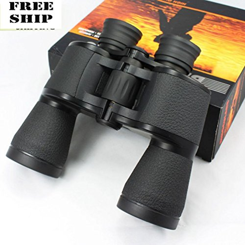 20X50 Hd Zoom Folding Outdoor Travel Daynight Vision Binoculars Telescope Hiking Coated 20 Mil Canvas