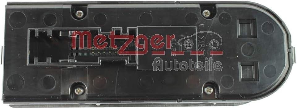 Fensterheber Metzger 0916061 Schalter