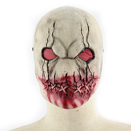 Novelty Latex Rubber Creepy Scary Ugly Bloody Corpse Mask Halloween Party Costume (The Haloween)